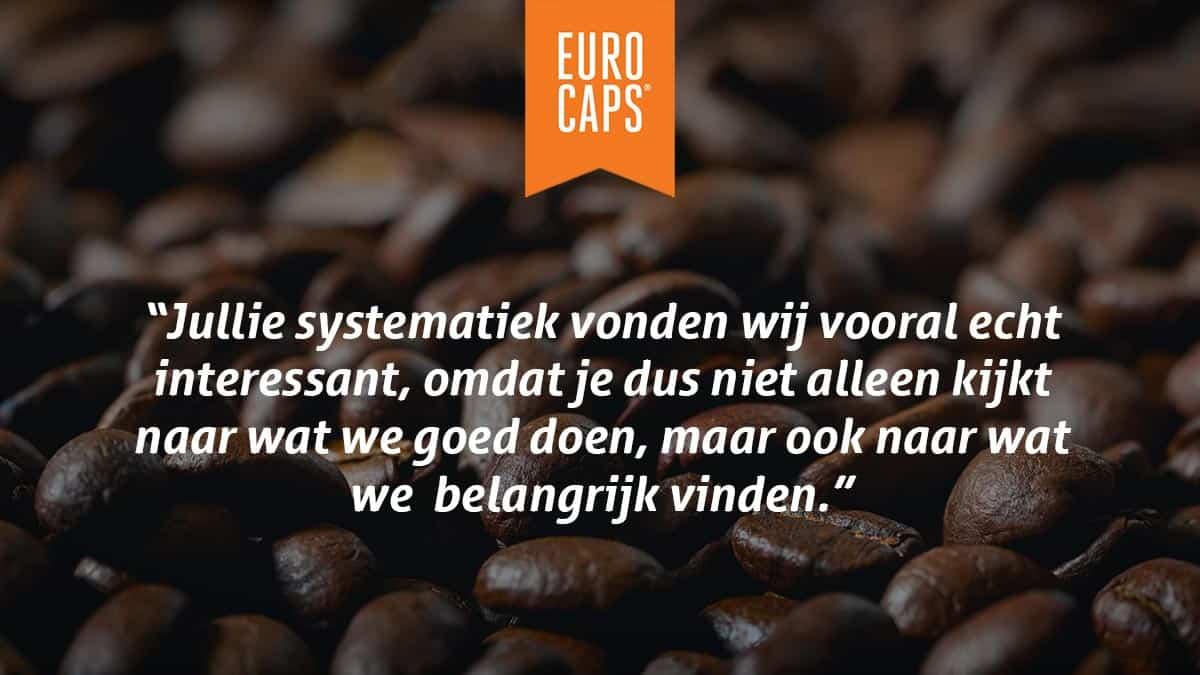 Euro Caps MTO feedback programma